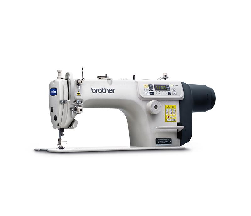 Single needle lock stitch sewing machine S-7100A
