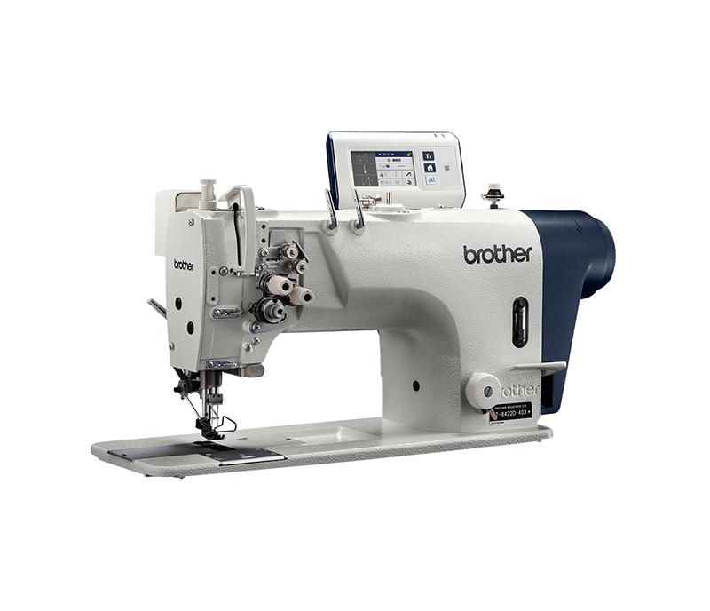 Twin Needle Lock Stitch Sewing Machine T-8421C