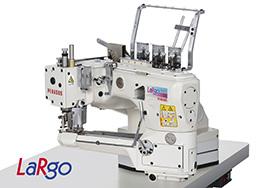 Interlock & Double chain stitch - LaRgo/FS700P series