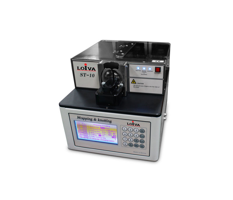 Button wrapping & Knotting Machine - ST-10