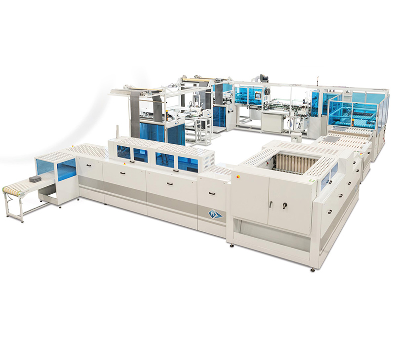 AES-4600 – ESI-1200 – T-MAX - Automatic Terry Towel Sewing Line
