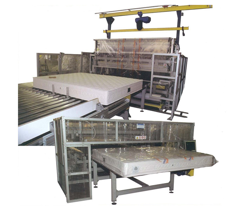 BM187- Automatic Wrapping Machine for Mattresses