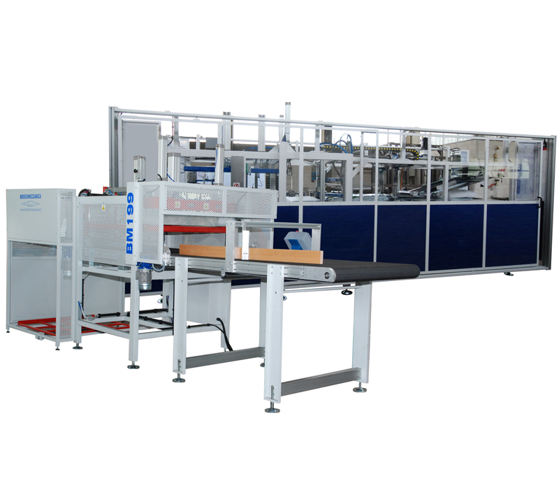 BM199-Automatic Vacuum Packing Machine for Pillows