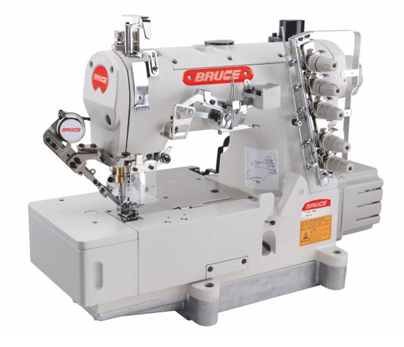 BRC- 562E - High-Speed Computerized Flat-bed Interlock Machine