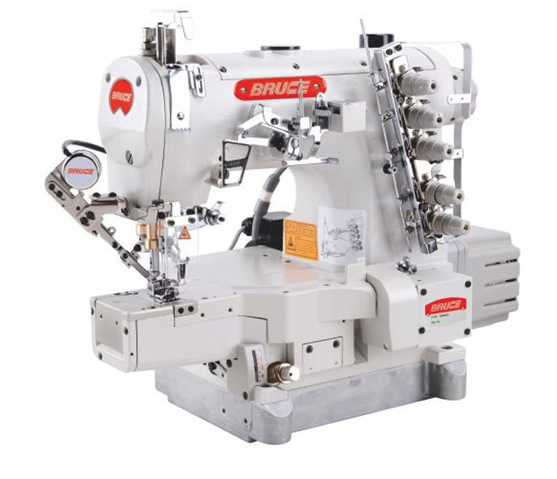 BRC-664BDII - High Speed Computerized Cylinder-bed Interlock Machine