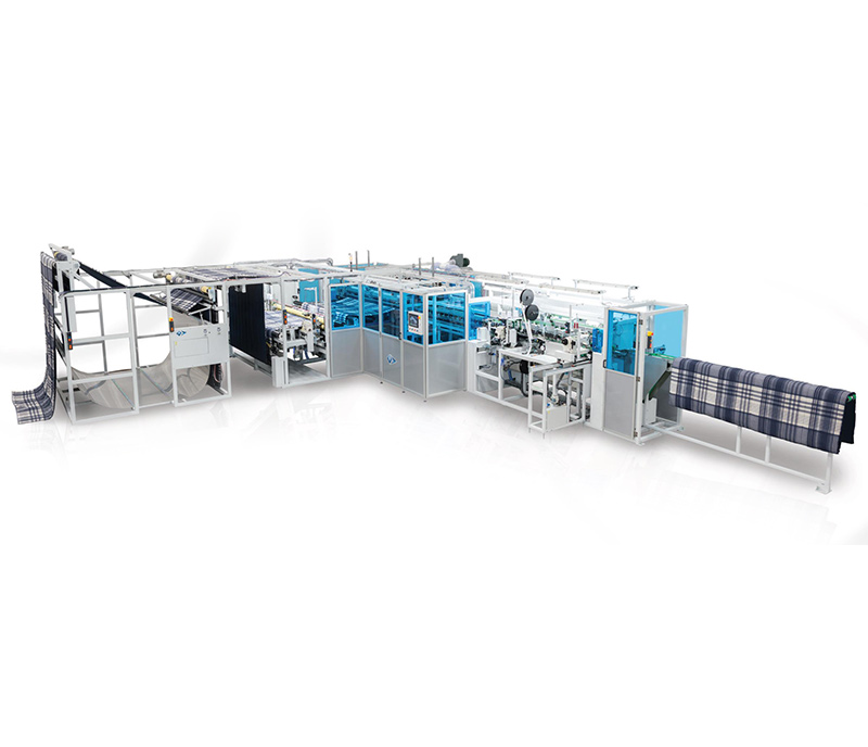 Automatic Chain/Lock Stitch Hemming Comforter Quilt Unit - FCCL-7725-OCPB