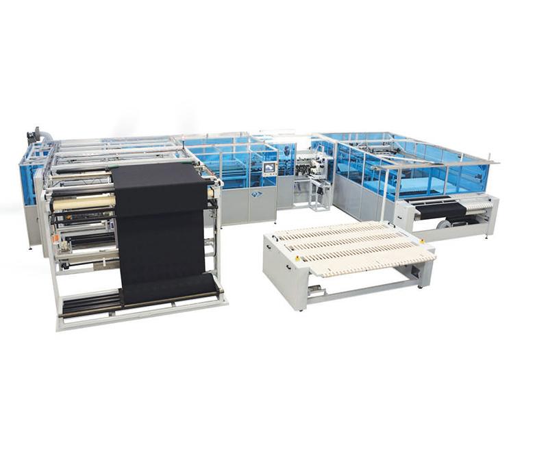 Automatic Table Cloth Chain / Lock Stitch Hemming Unit - FNT-7725- OCPB