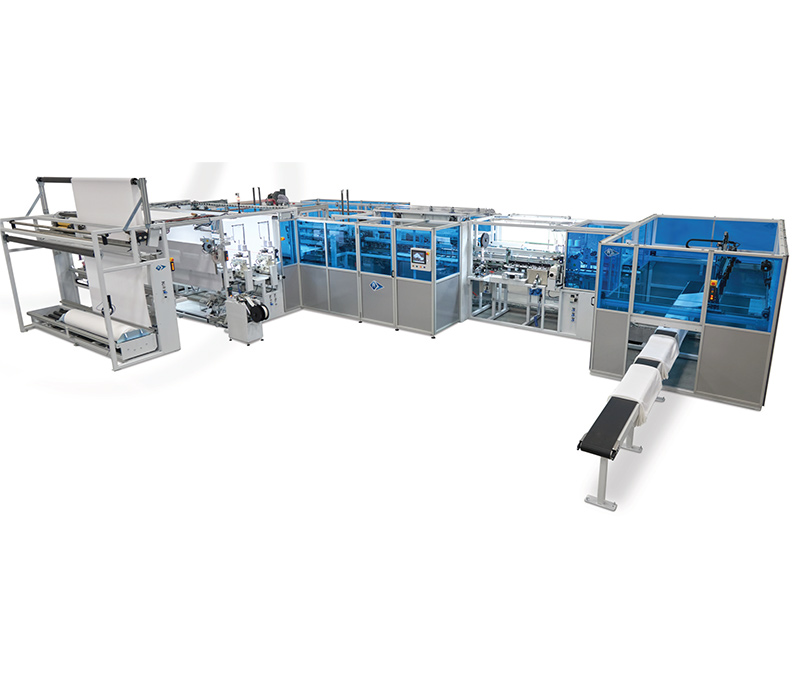 Automatic W/L Curtain Length and Cross Hemming Unit – FR-WL-7725