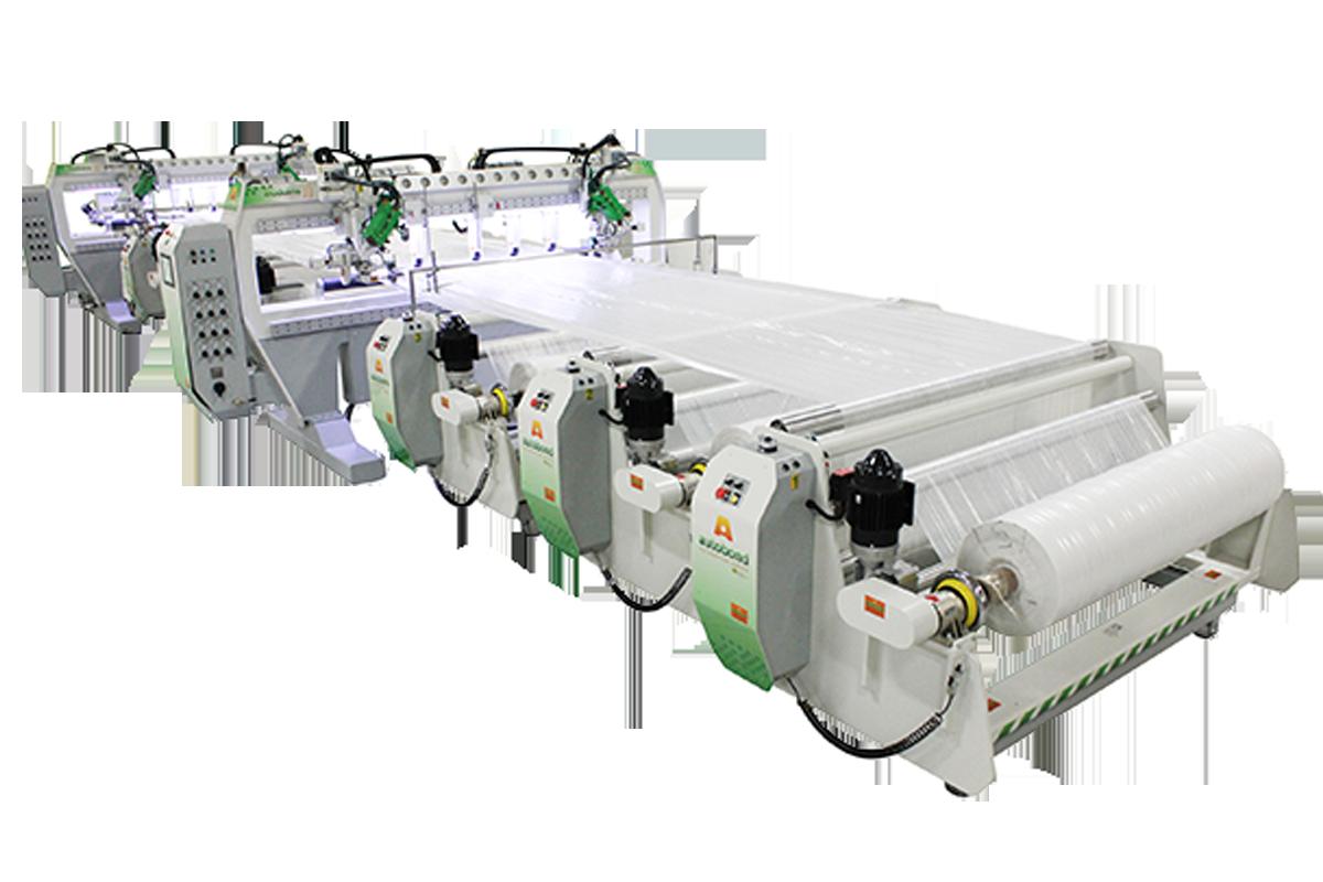 M100 - Three Roll C-Fold System