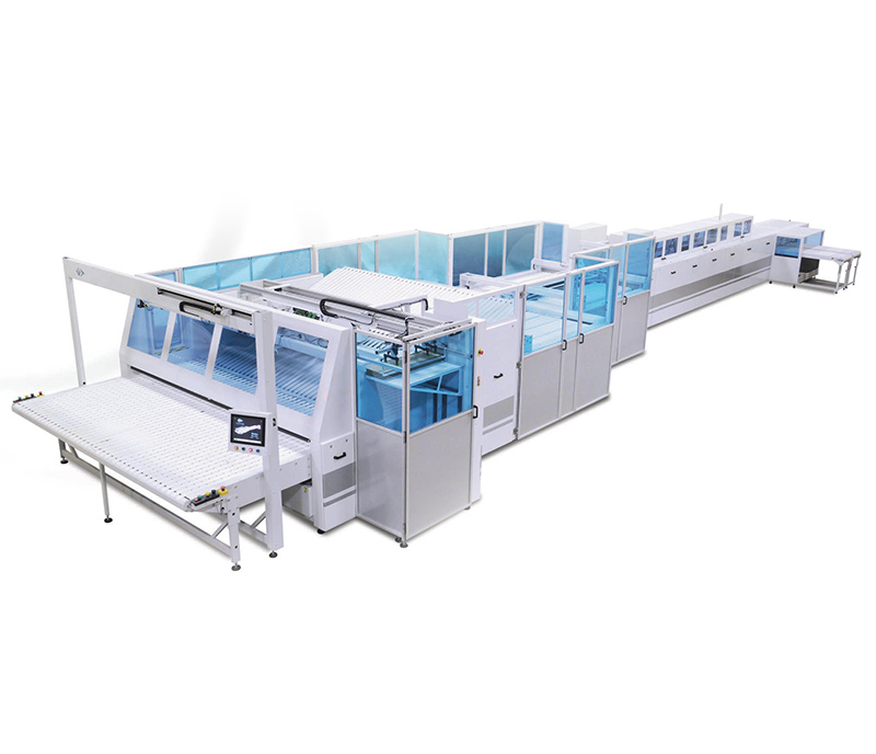 MULTITEX 3300-2000 - Folding Unit for Flat Products and Fitted Sheets