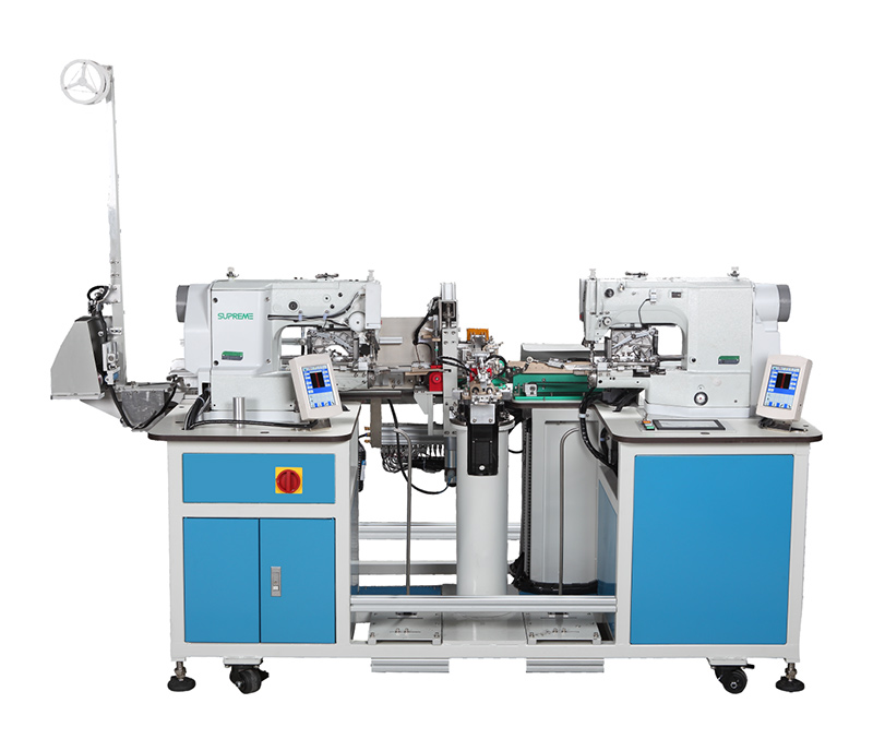 SP-F110 - Double Position Elastic Joining Machine