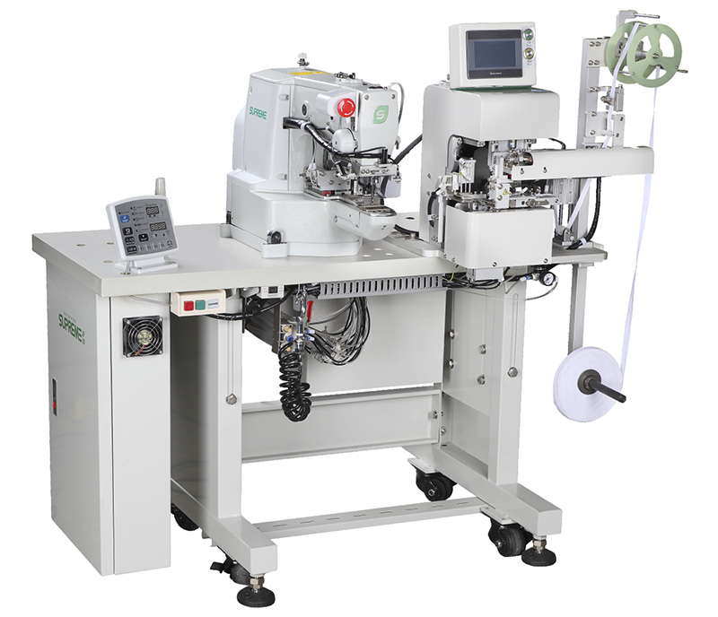 Semi-Auto Crotch Reinforcement Machine - SP-F136