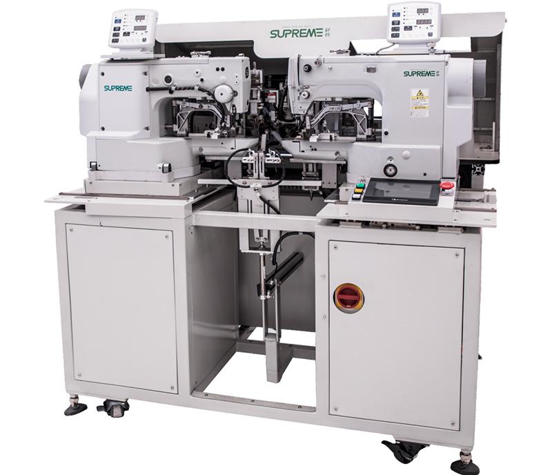 Automatic Drawstring Bar-tacking Machine (fold internally both ends) - SP-F156