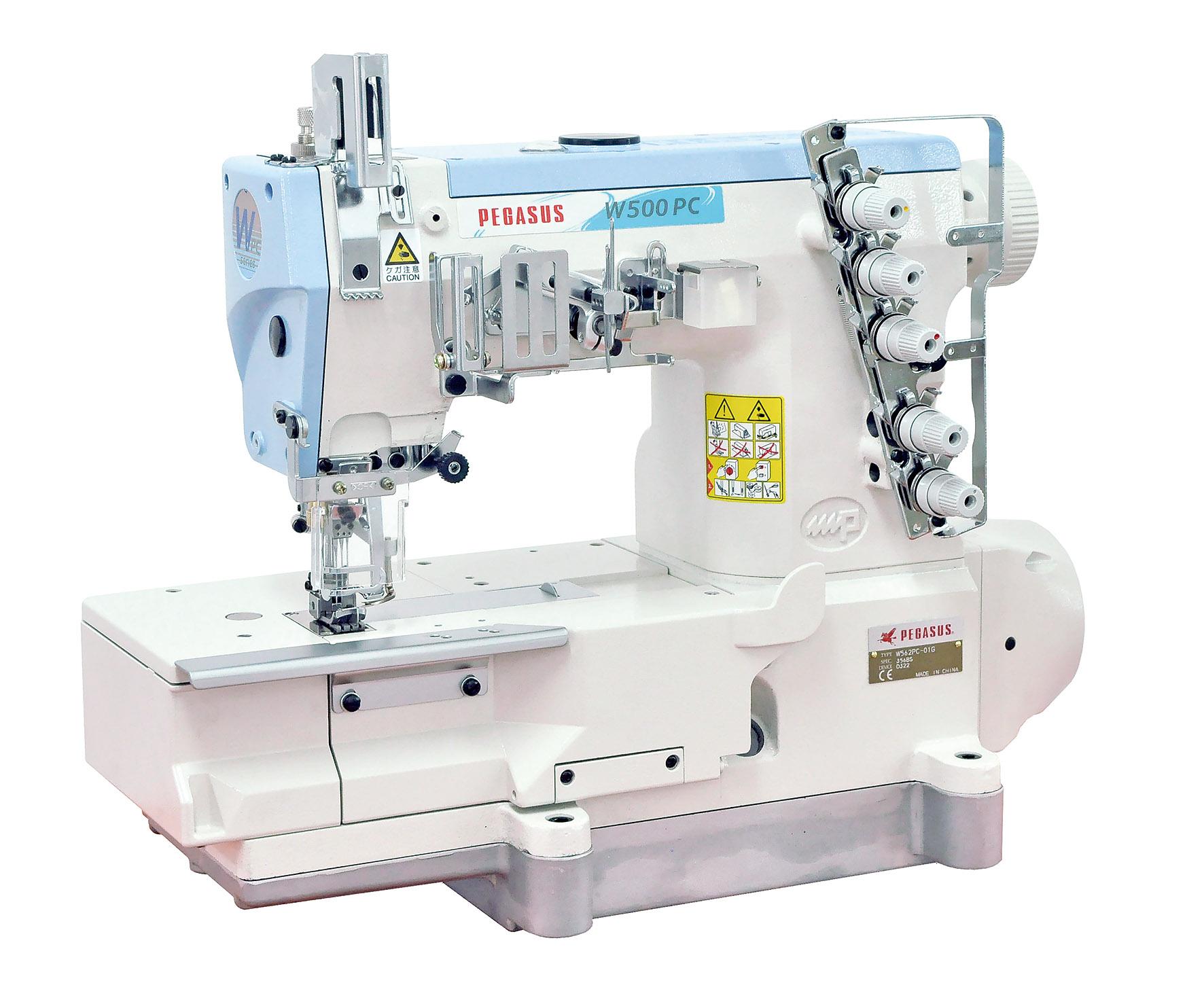 W562PC-01GX356BS/D322 - Oil Barrier Type, Flatbed, Interlock Stitch Machines