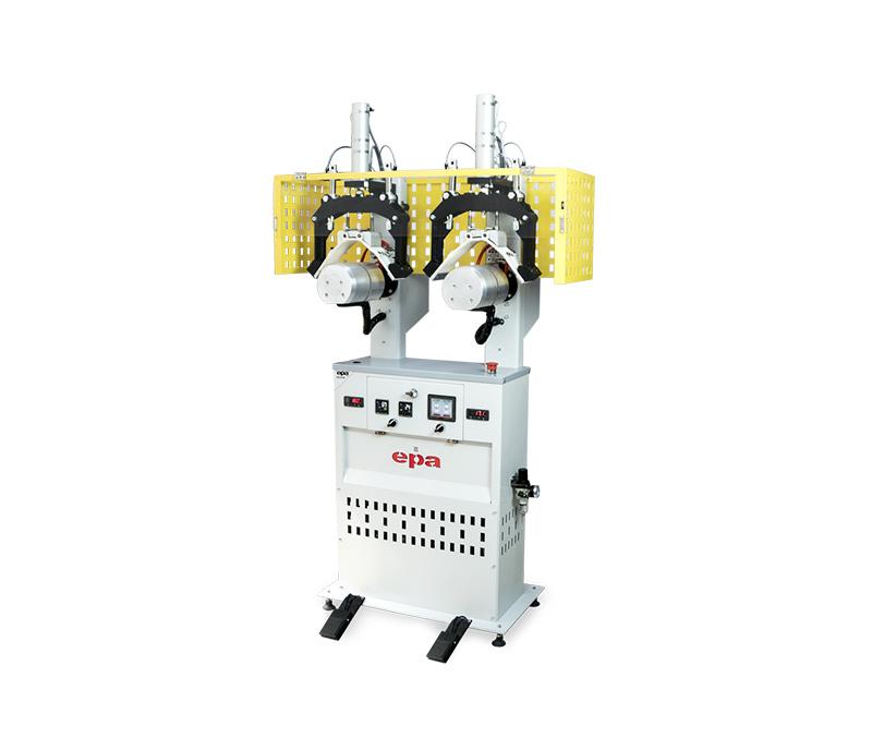 EPA 152-03D – Collar Creasing Machine Double Hot and Cool Head